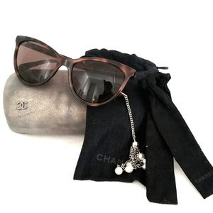 Chanel Hanging Pearls Sunglasses 5341